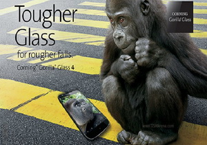 Corning เผยสมาร์ทโฟนเครื่องแรกที่ใช้กระจกหน้าจอแบบ Gorilla Glass 4 คือ Galaxy Alpha