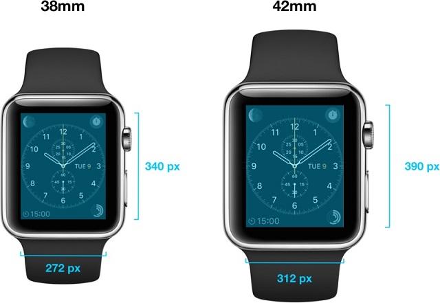 applewatch resolution 600
