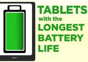 จัดอันดับ 10 อันดับแท็บเล็ตที่มีแบตเตอรี่อึดที่สุด ใช้งานได้ยาวนานที่สุด ในขณะนี้