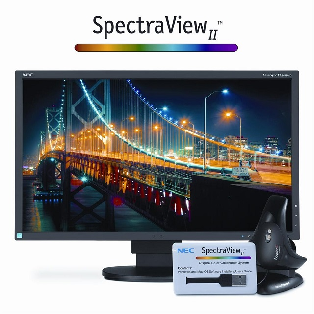 monitor NEC with SpectraView II 600
