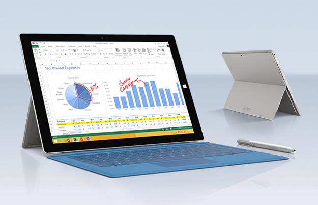 surface pro 3 600