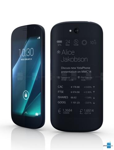 yota phone 2 600