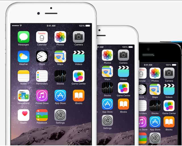 4 inch Apple iPhone 6s mini 12.9 inch iPad rumored for 2015 600