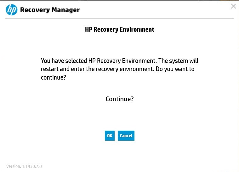 HP Recovery Manager-4
