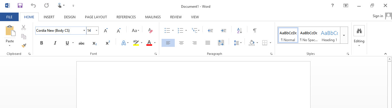 MS Office Touch mode-4