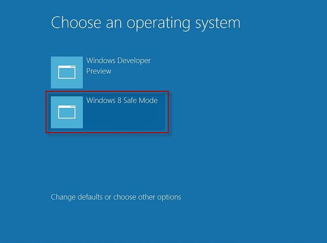 Safe mode Windows 8-2