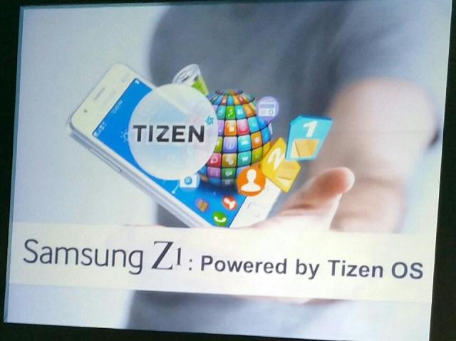 Samsung's Tizen-based Z1 01 600