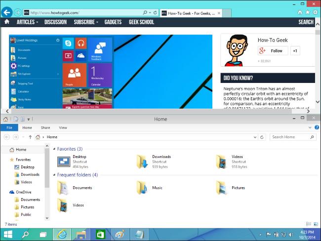 Snap Assist-windows 10-5
