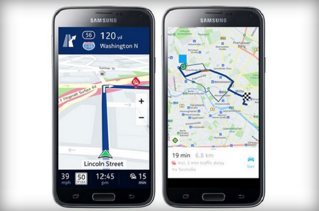 nokia map app not exclusive for samsung anymore 600