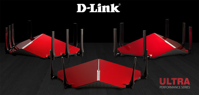 D-Link's new 11AC Ultra Performance Series routers  600