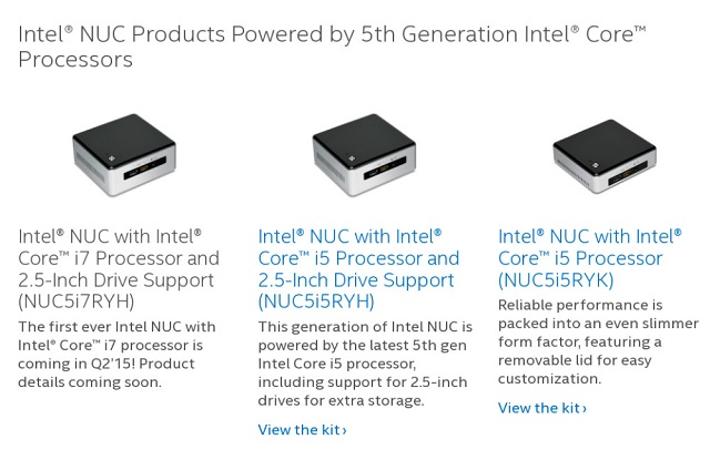 First Core i7 Powered Intel NUC 600