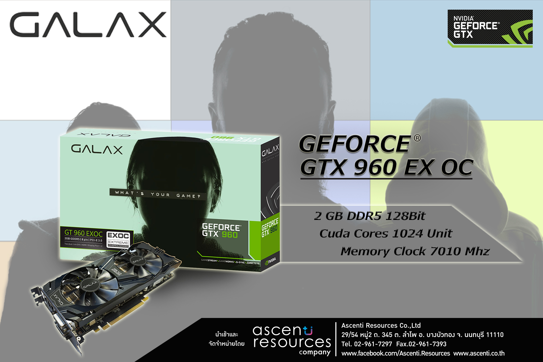 Galax GTX 960 EXOC