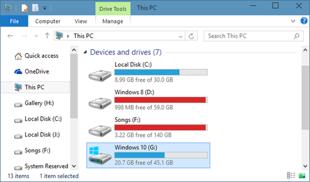 Delete Windows old folder-1
