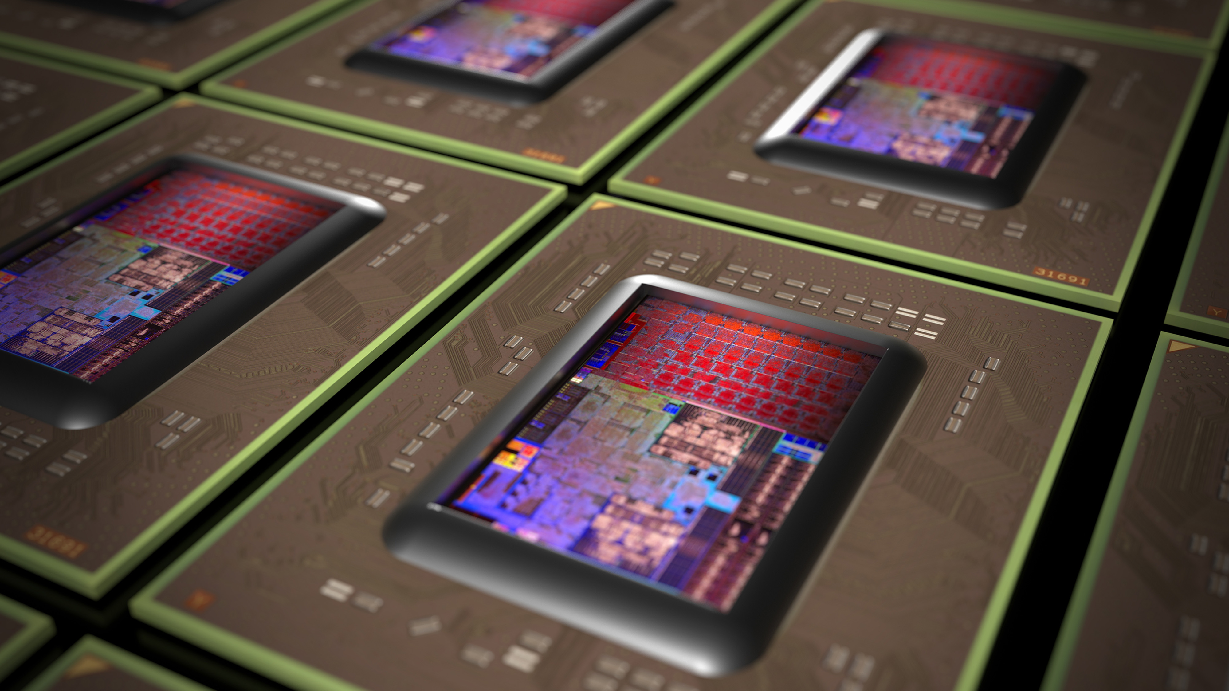NEWCARRIZO ver 3 die and chip array  VER2 - CAM3 render DOF Aperture 0.4
