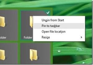 Windows 10 pin to taskbar Image
