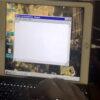 Windows 98 running on an iPad Air 2 300