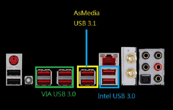 X99S Motherboard Series as USB 3.1 600