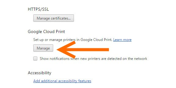 Google Cloud Print 1