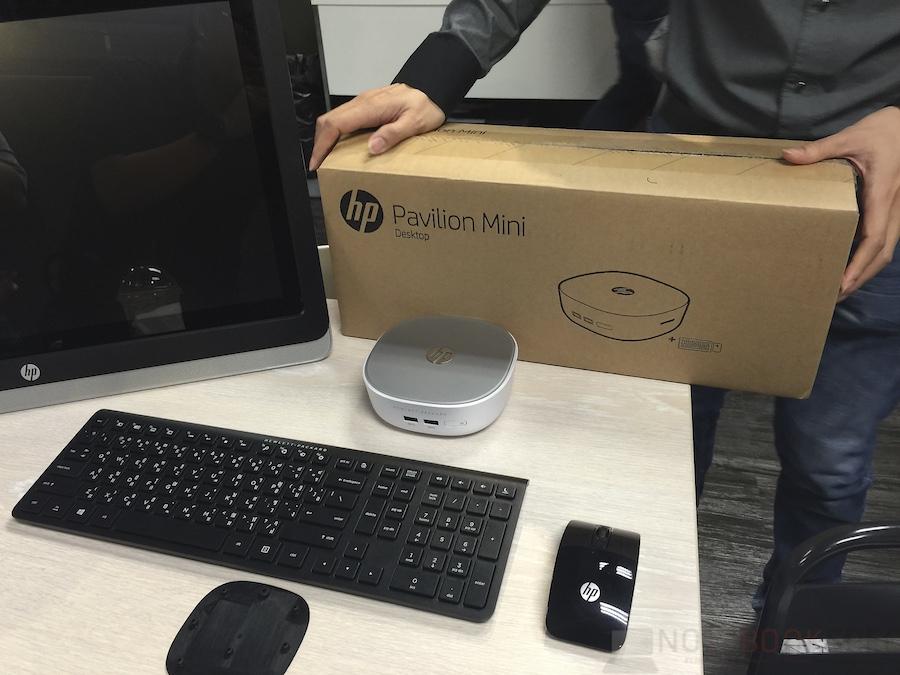 HP Pavillion Mini Hands-on 036