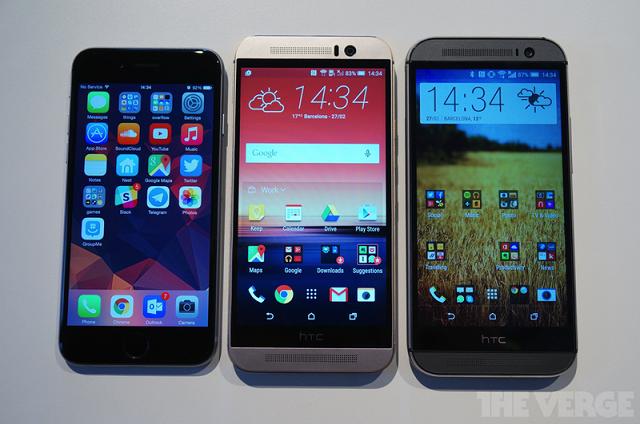 HTC One M9 06 600