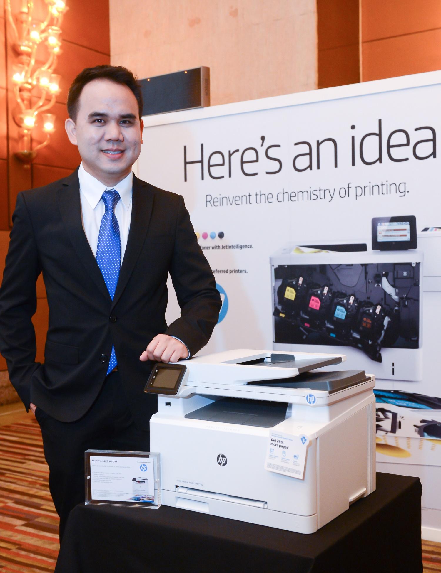 K Pavin with HP Color LaserJet Pro MFP M277_res