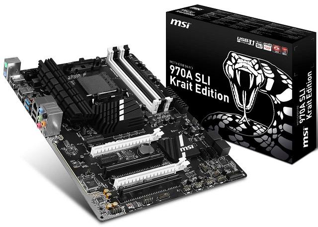 MSI 970A SLI Krait Edition 600