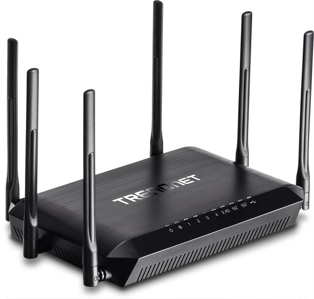 TRENDnet AC3200 Tri Band Wireless Router 01 600