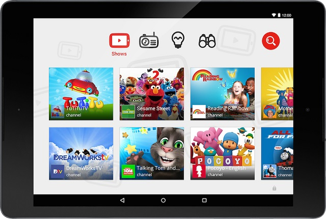YouTube Kids Screenshot 600