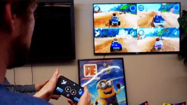 android tv phone game controller