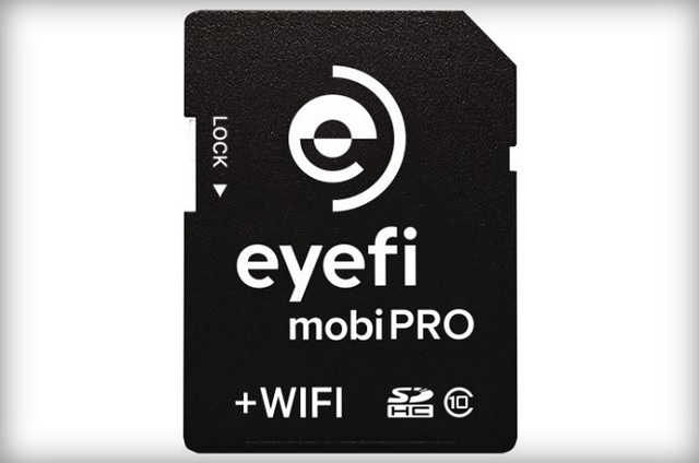 eyefi mobiPRO wifi SD card 600