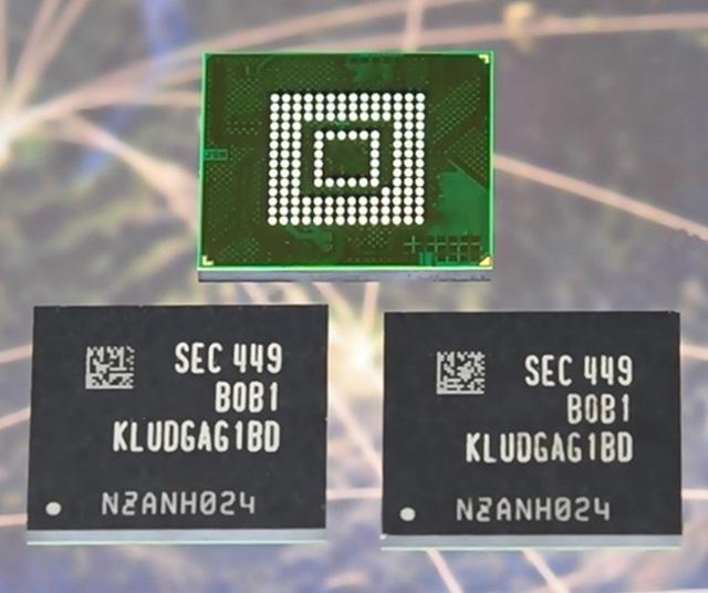 samsung First 128-Gigabyte UFS 600