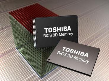 toshiba BiCS 3D Memory 600