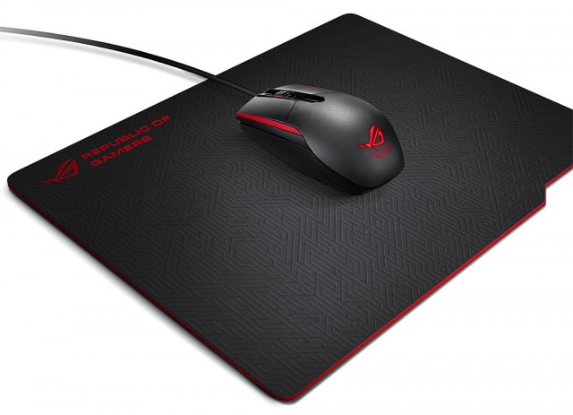 Asus ROG Sica Mouse and Whetstone Mousepad  600