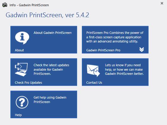 Gadwin PrintScreen ...
