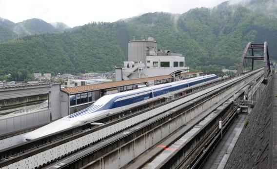 Japan's maglev train shatters previous world speed record 600