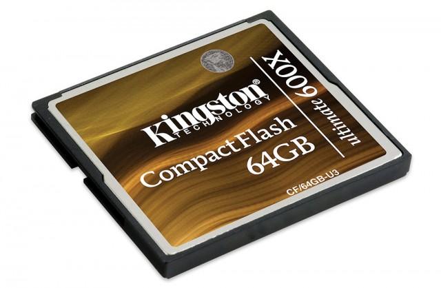 Kingston 64GB 600X CF Card 600
