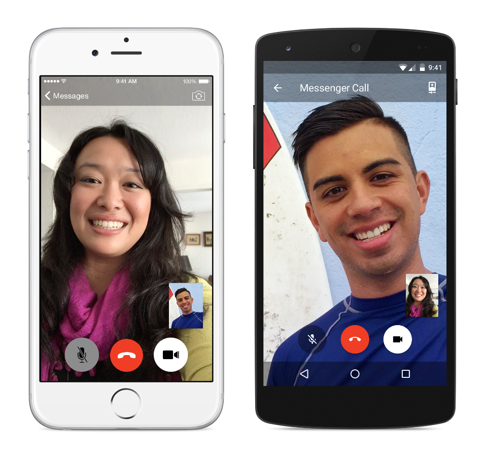 Messenger video call