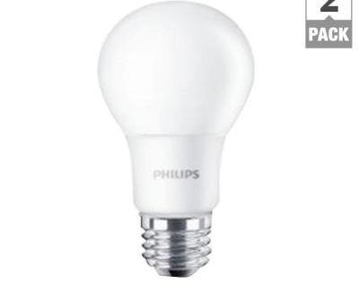 Philips 60 watt equivalent LED bulbs 600