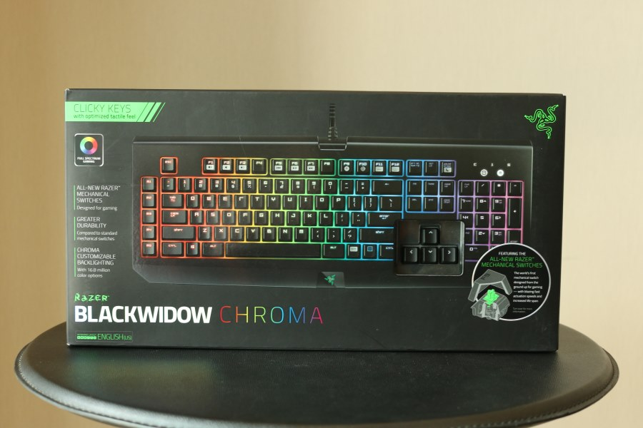 Razer BlackWidow Chroma (1)