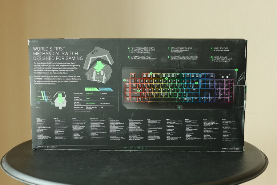 Razer BlackWidow Chroma (2)