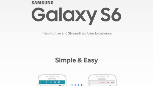 Samsung Galaxy S6 S6 edge TouchWiz UI infographic 01