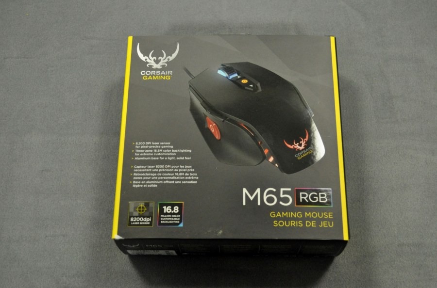 Corsair M65 RGB Mouse Gaming  (1-1)
