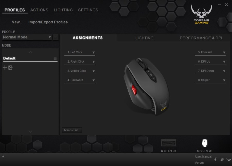 Corsair M65 RGB Mouse Gaming  (14)