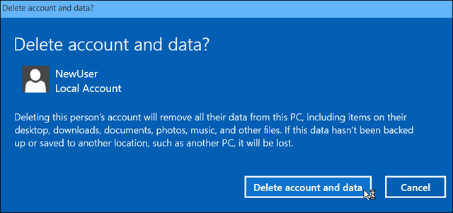 Create a Local Windows 10 Account (2)