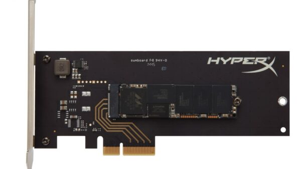 Kingston hyperx pcie ssd rev3
