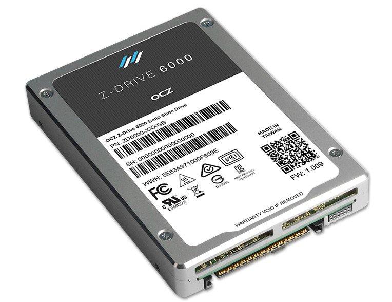 OCZ Z-Drive 6000 NVMe SSDs 600