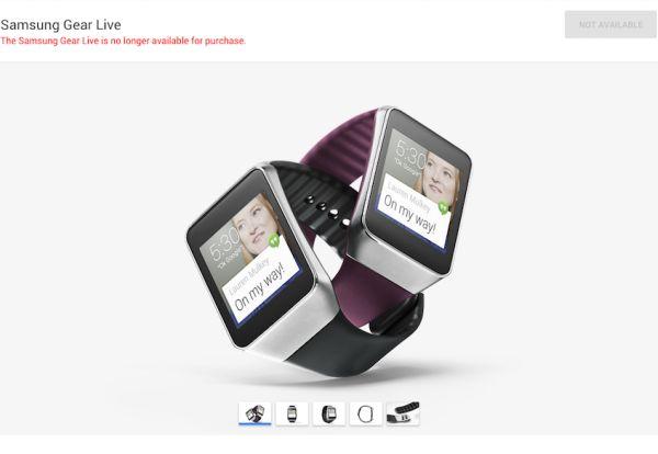 Samsung-Gear-Live-unavailable