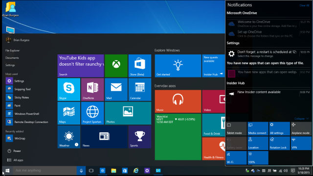 Windows 10 Start Menu Smaller1