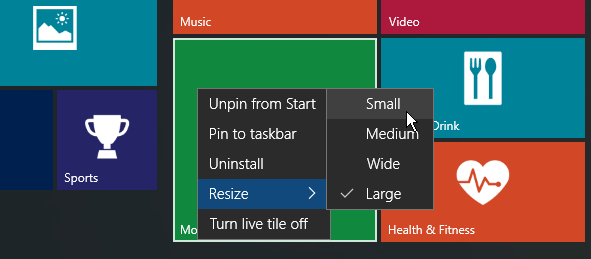 Windows 10 Start Menu Smaller2