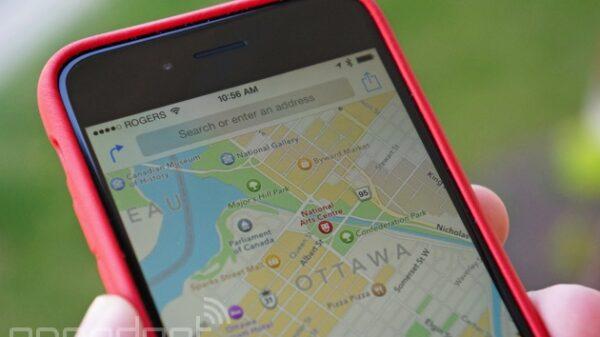 apple maps iphone 600